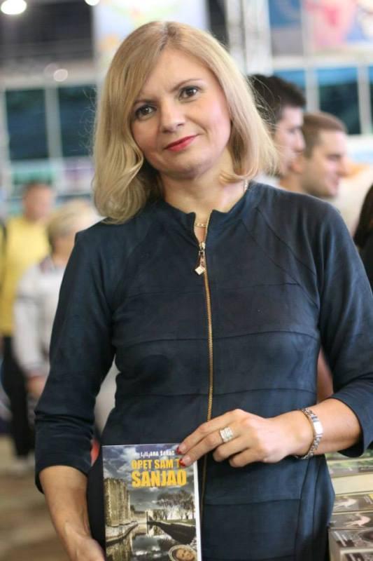 Ljiljana Šarac na Beogradskom sajmu