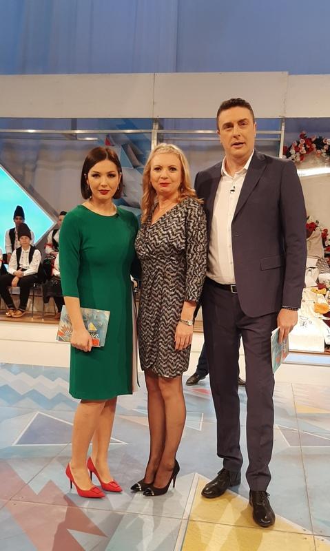 Ljiljana Šarac sa Anom Babić i Slobodanom Šarencem