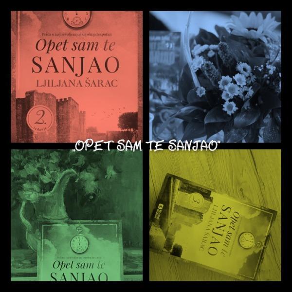Prvi roman Ljiljane Šarc ,,Opet sam te sanjao''
