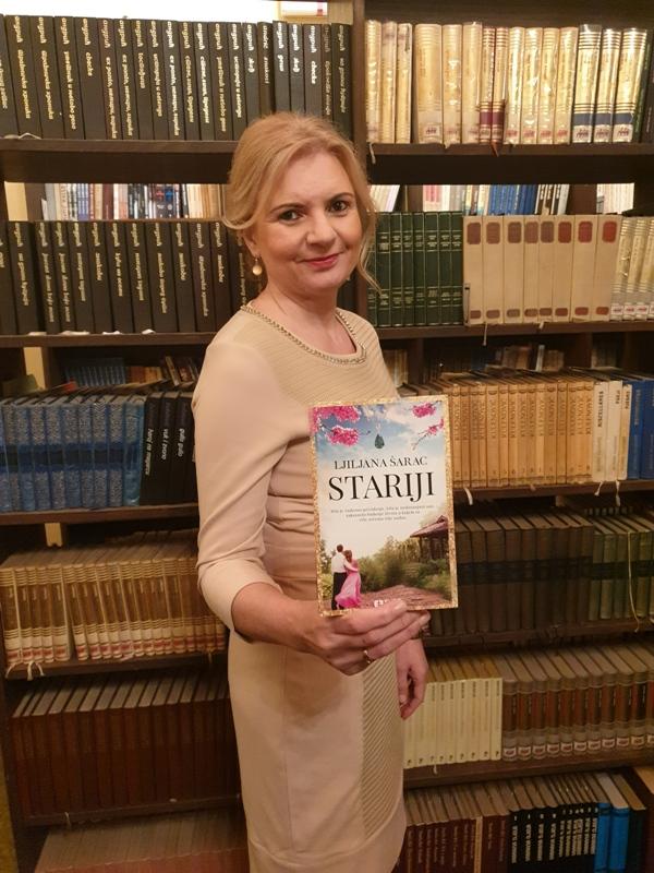 Promocija romana Stariji Ljiljane Šarac u Čajniču
