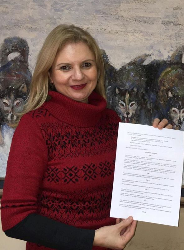 Potpisan Ugovor za šesti roman