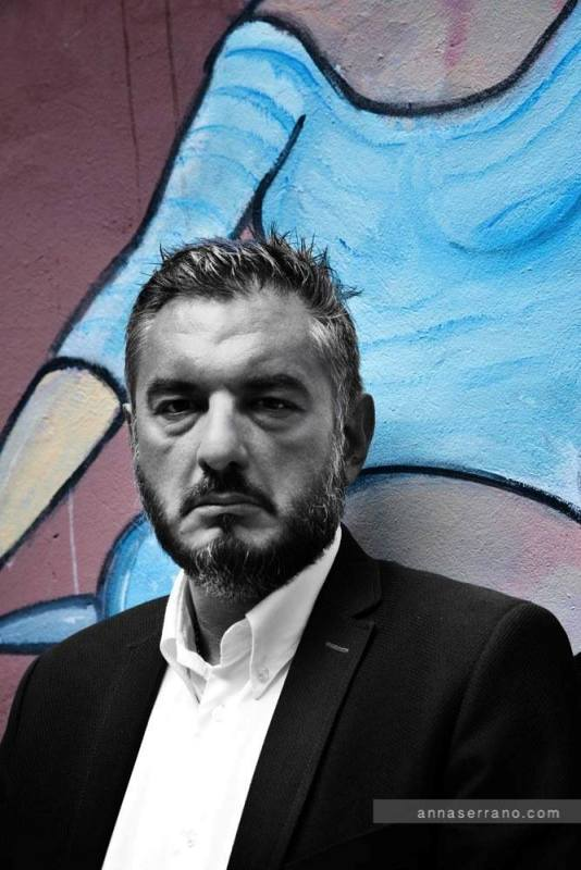 Miomir Petrović pisac Foto Ana Serano