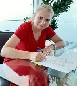 Ljiljana Šarac potpisala ugovor sa Izavačkom kuća Laguna