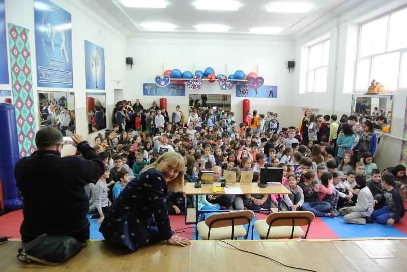 Vesna Aleksić, s jedne od promocija